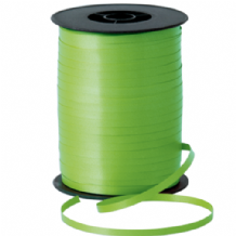 Lime Green Ribbon for Balloons (500m x 5mm)